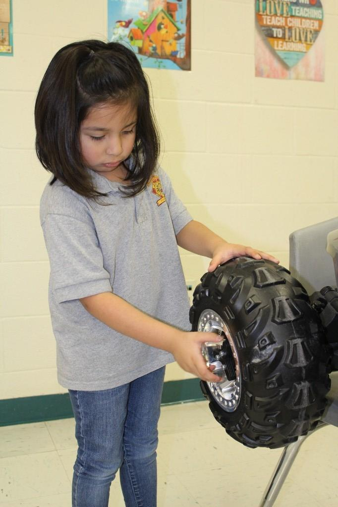 Rover Mounting and Dismounting of Tire