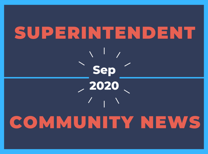Superintendent's Update September 2020 Image