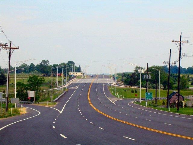 Interstate 95 interchange on Scotch Road