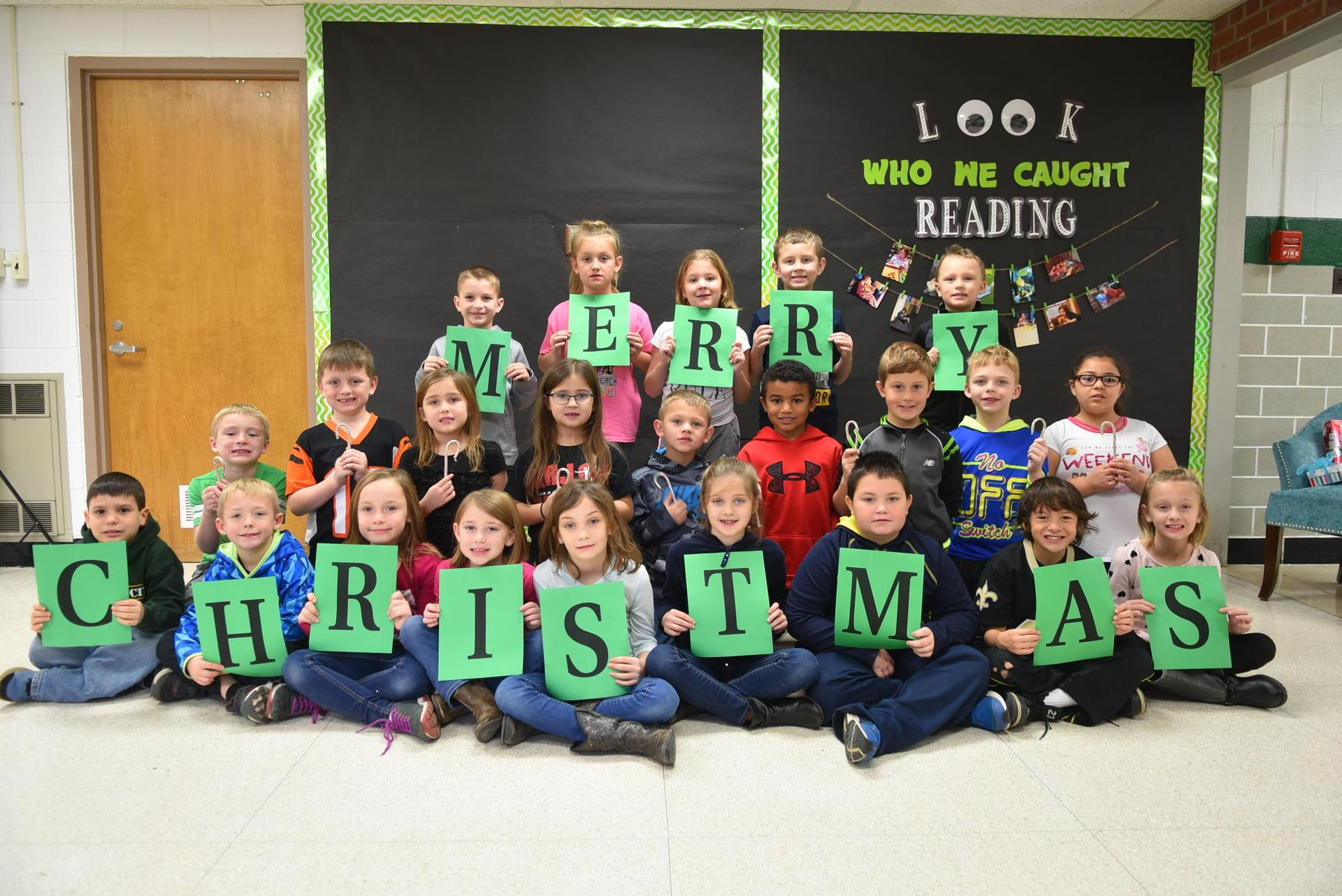 Merry Christmas from our class to you!!