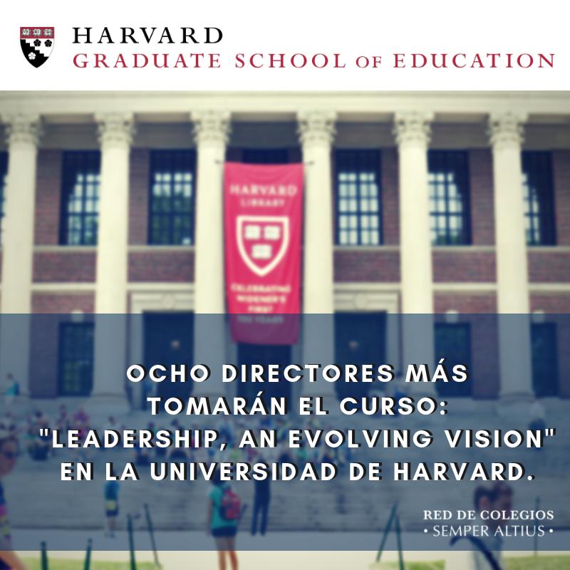 Ocho directores más asistirán a curso en Harvard en el verano del 2019 Featured Photo