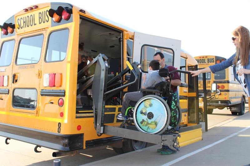 New wheelchair accessible bus