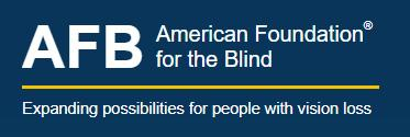 link to The American Foundation for the Blind (AFB)