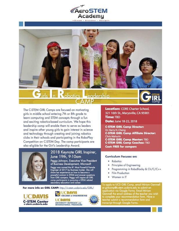 C-STEM GIRL Camp