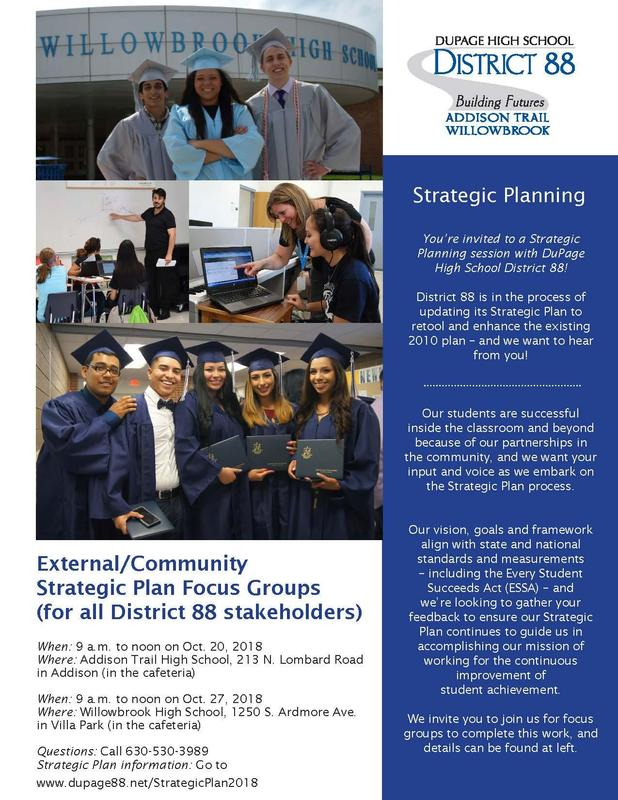 District 88 Strategic Plan