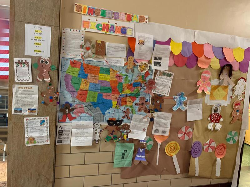 Pre-K at PS8 Participates in Gingerbread Person Exchange Featured Photo
