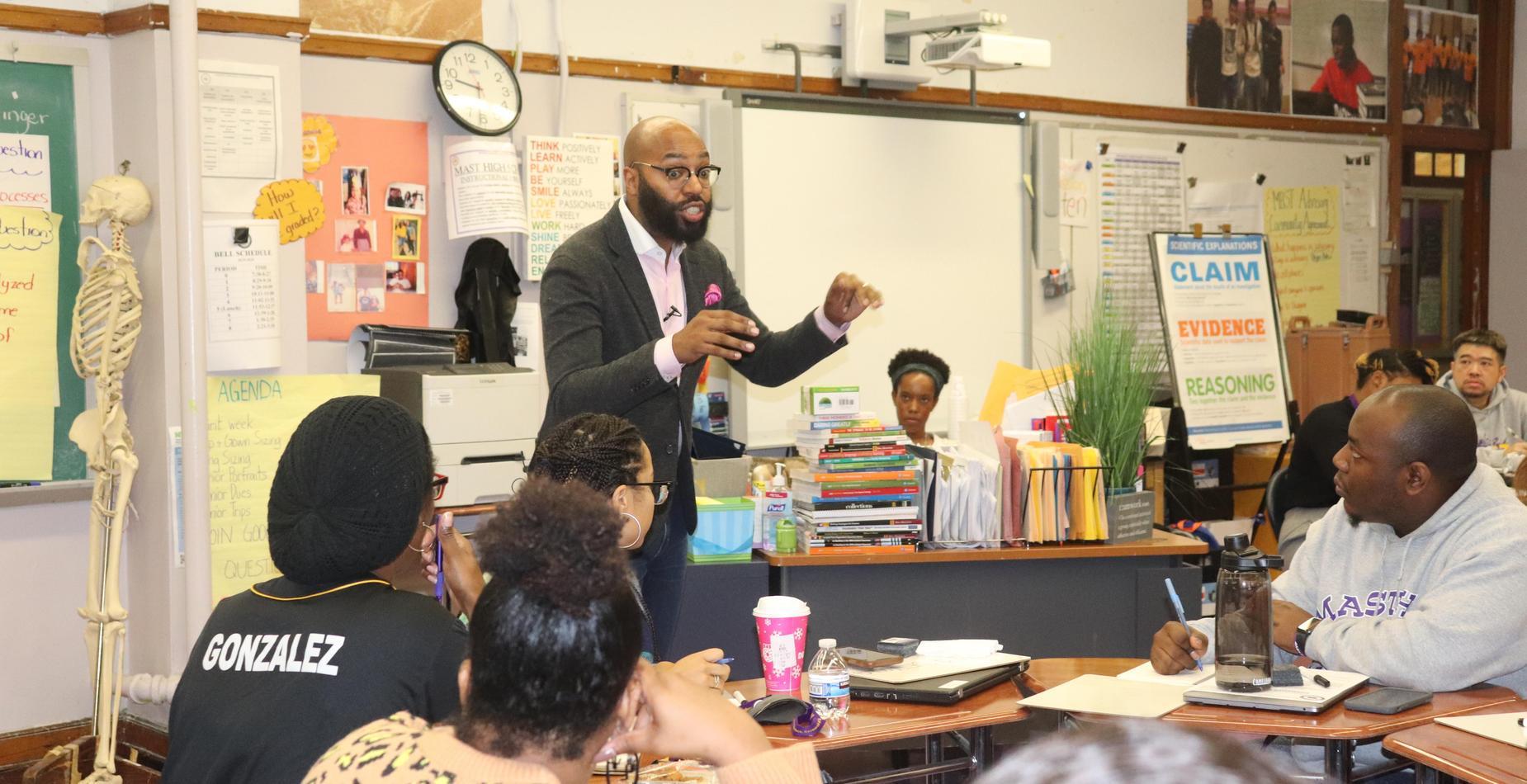 teachers learning in training