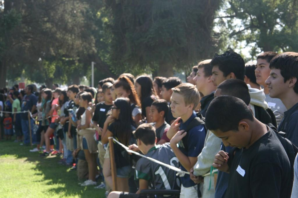TLR students on field trip