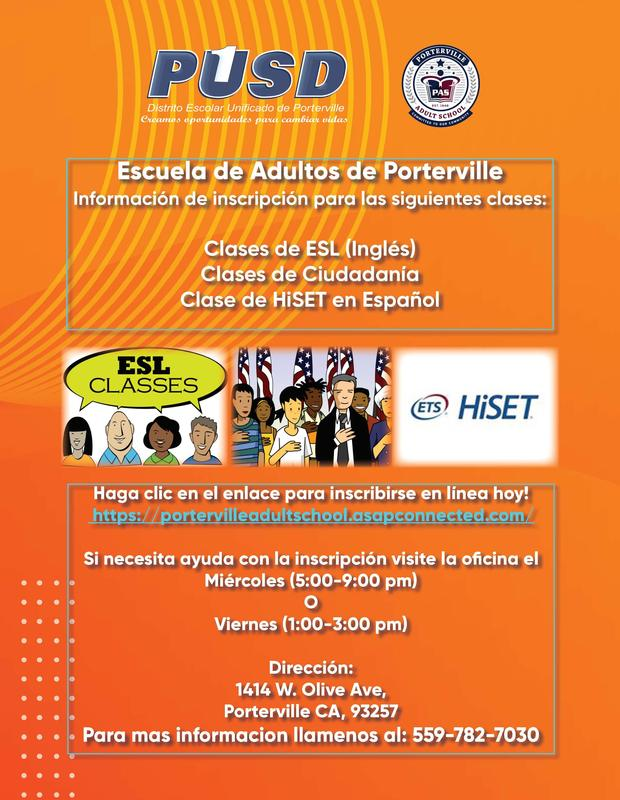 Now Registering for ESL and Spanish Hiset Classes! Featured Photo