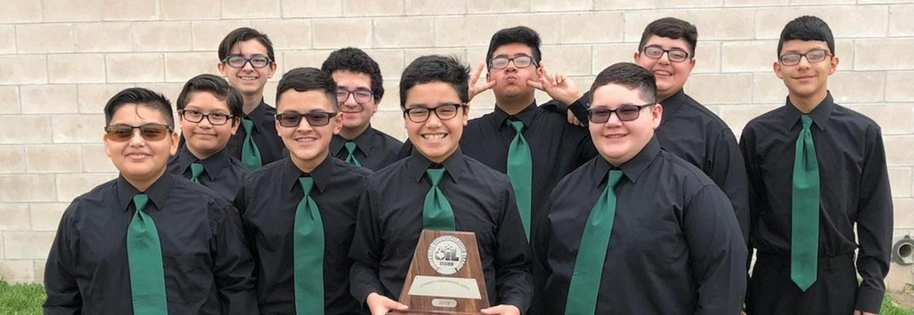SWEEPSTAKES for Boys choir!