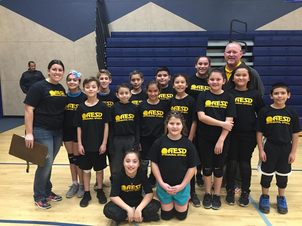 Mitchell K-6 Volleyball Team