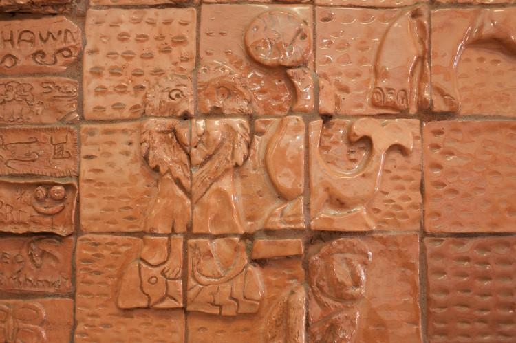 Tile artwork of Lion