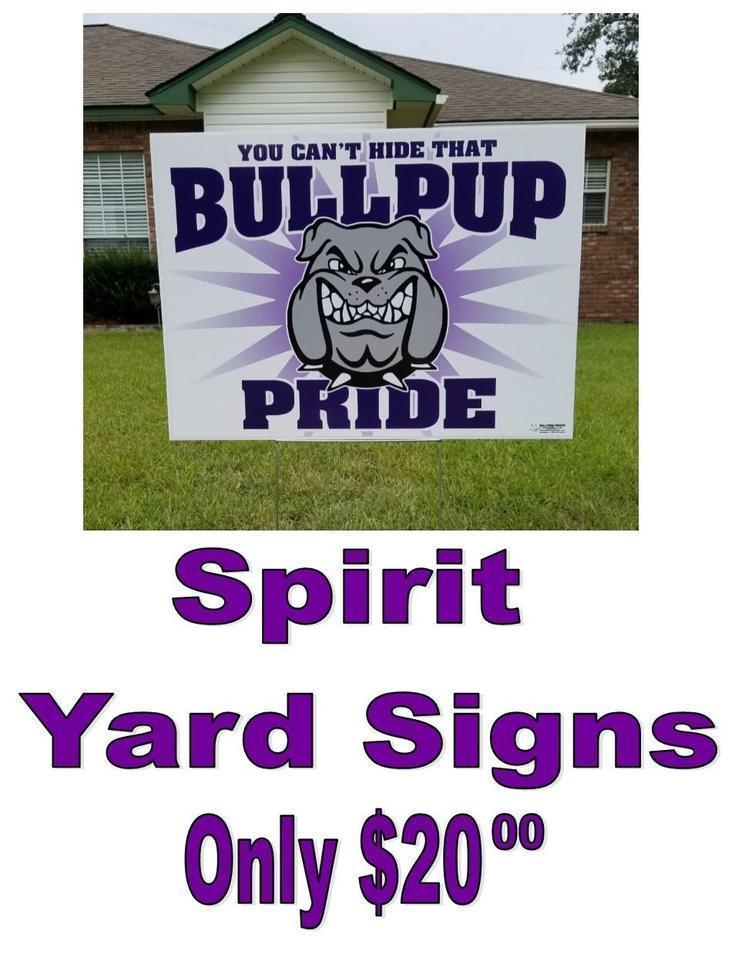 Spirit Sign $20