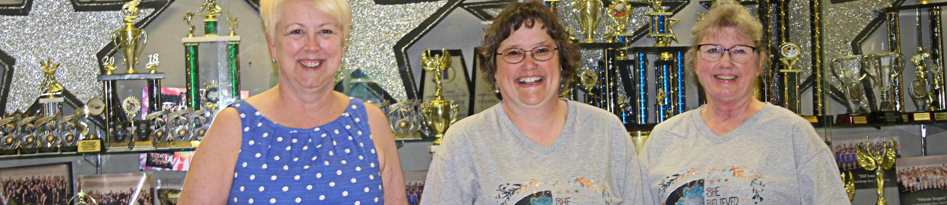 Retirees Honored at Sweet Rewards