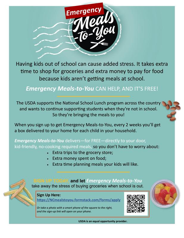 Emergency Meals-to-You CAN HELP, AND IT'S FREE!