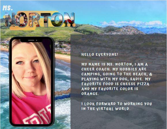 Meet Ms. Norton!
