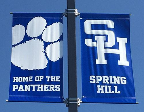 Spring Hill Home of the Panthers