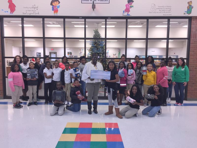 W.G. Nunn Elementary Junior Beta Club Blanket Drive