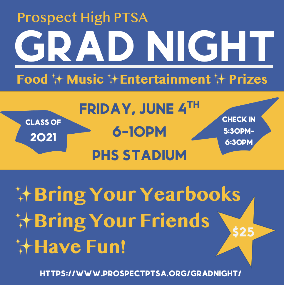 grad night 2021 info