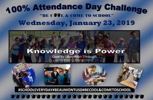 100% Attendance Day Challenge