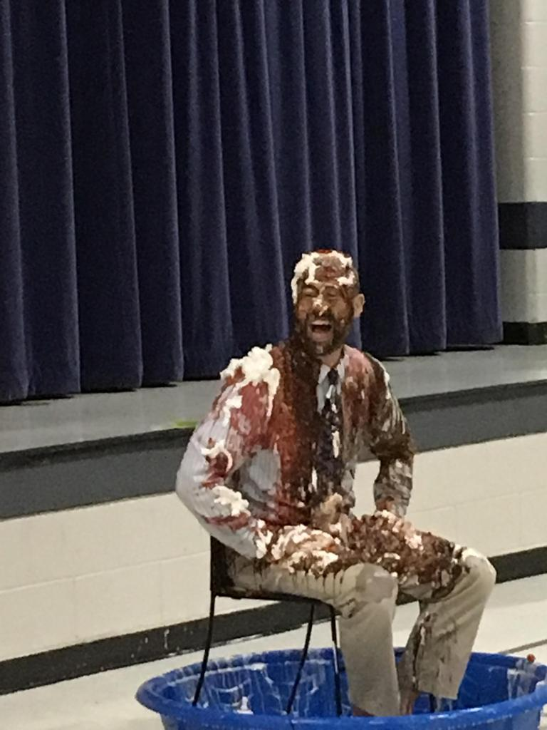 Mr. Green as an ice cream sundae