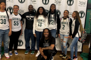 Inglewood High School was featured on ABC7 after D Smoke, an Inglewood High Alum and rapper, joined students at their Winter Pep Rally and presented scholarships to ten students!