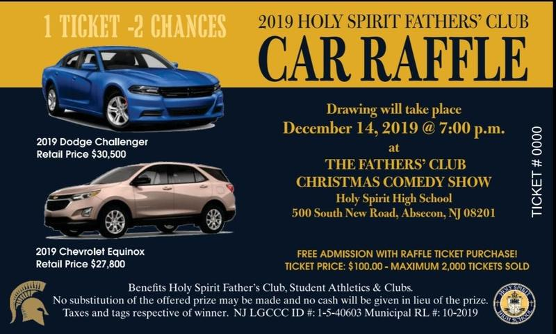 Fathers' Club proudly launches the 2019 Car Raffle! Featured Photo