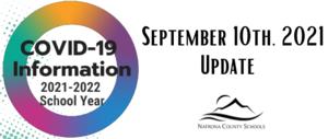 Covid Update September 10, 2021