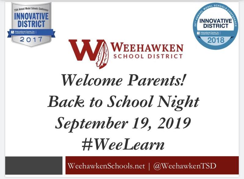 WHS Back to School Night