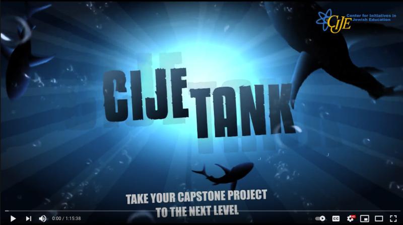 3rd Annual CIJE Tank Featured Photo