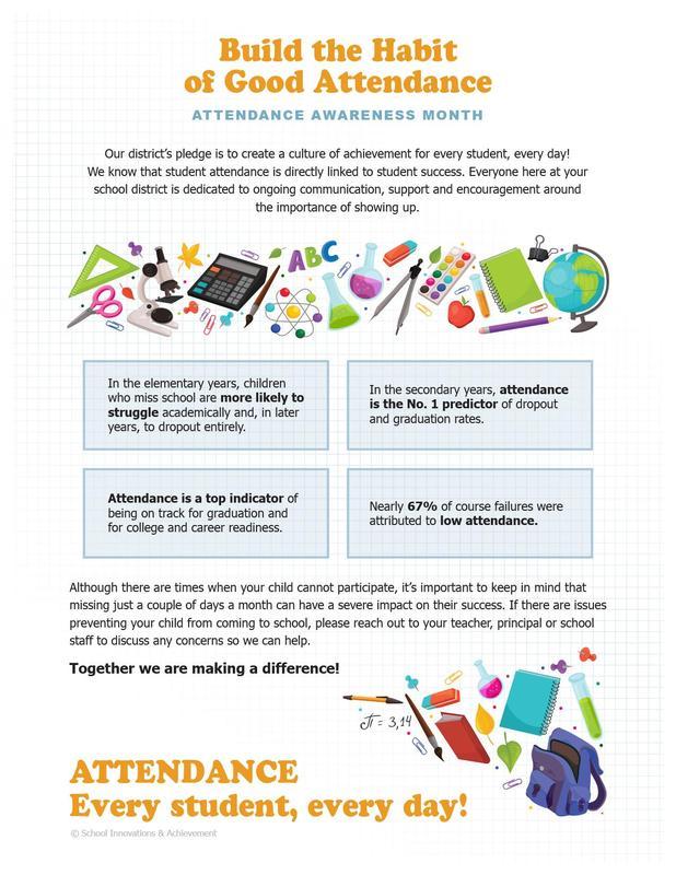 September is Attendance Awareness Month Thumbnail Image