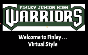 Finley 5th grade virtual orientation graphic