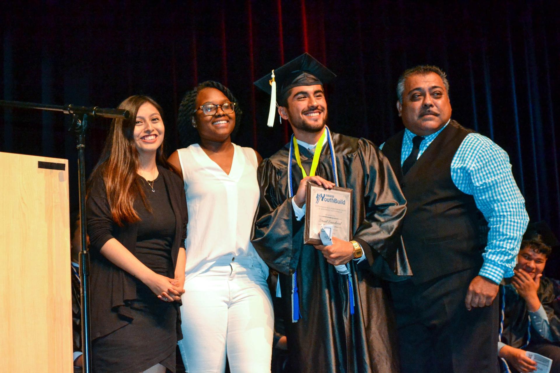 Lennox student wins award at graduation