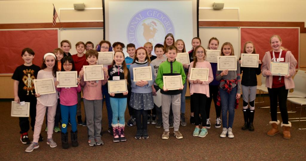 Os Geo Bee Participants 2019