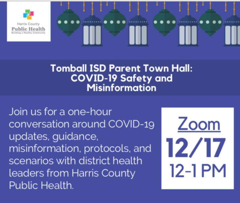 Town Hall Zoom Meeting