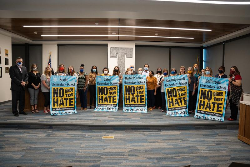 """Six Temple ISD schools earn """"No Place for Hate"""" designation Featured Photo"""
