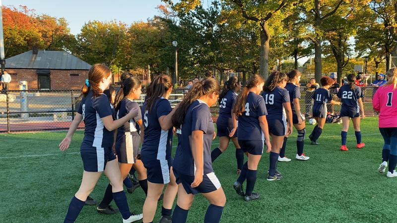 Maspeth High School Girls Soccer Heads to PSAL Semi-Finals Featured Photo
