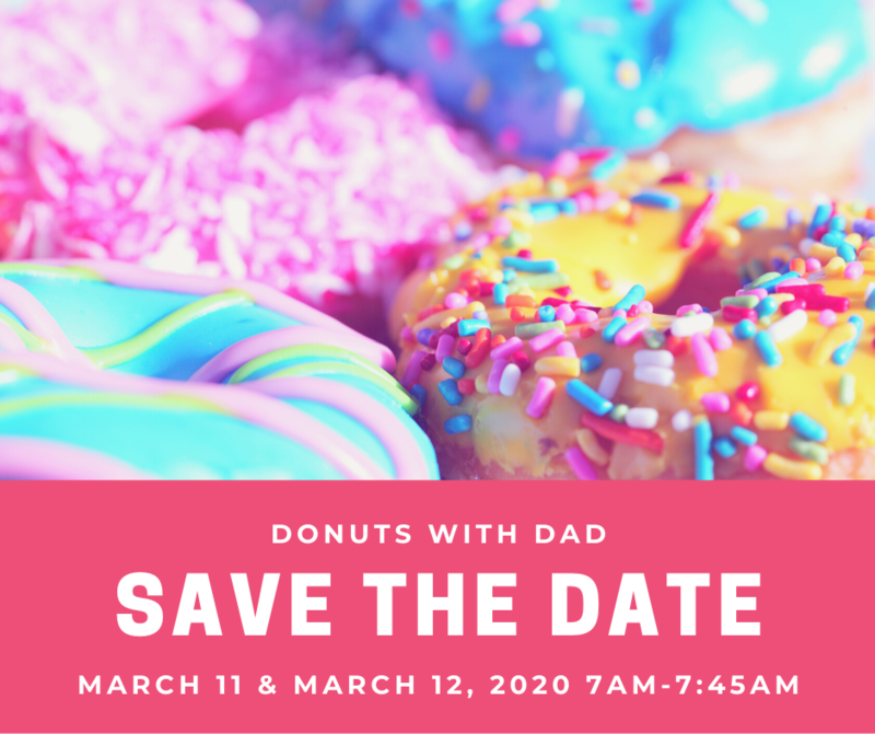 Donuts with Dads - UPDATED DATES Featured Photo