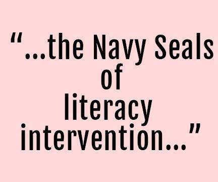 navy seals of literacy intervention