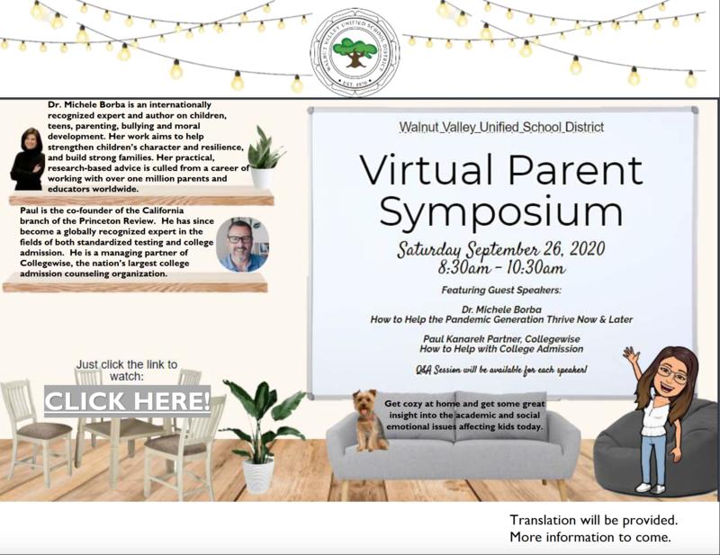 VIRTUAL Parent Symposium Featured Photo