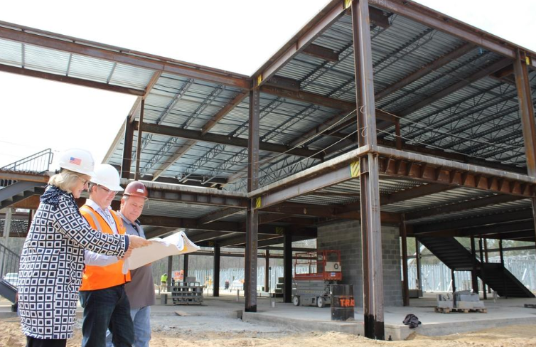 Construction of Royal Live Oaks' new campus moves ahead Featured Photo