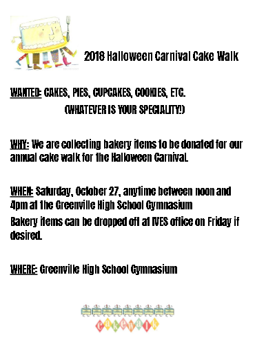 Donations needed for Halloween Festival
