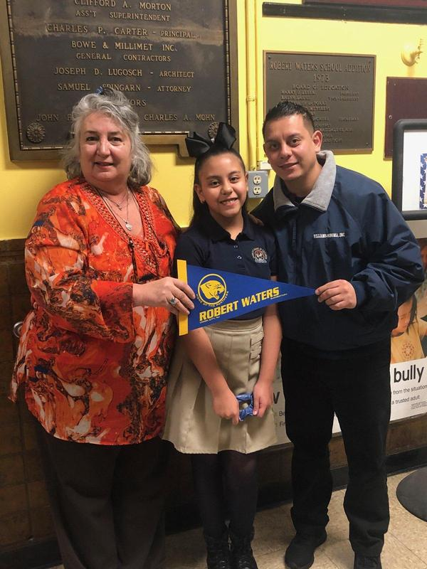January Student of the Month Alina A.