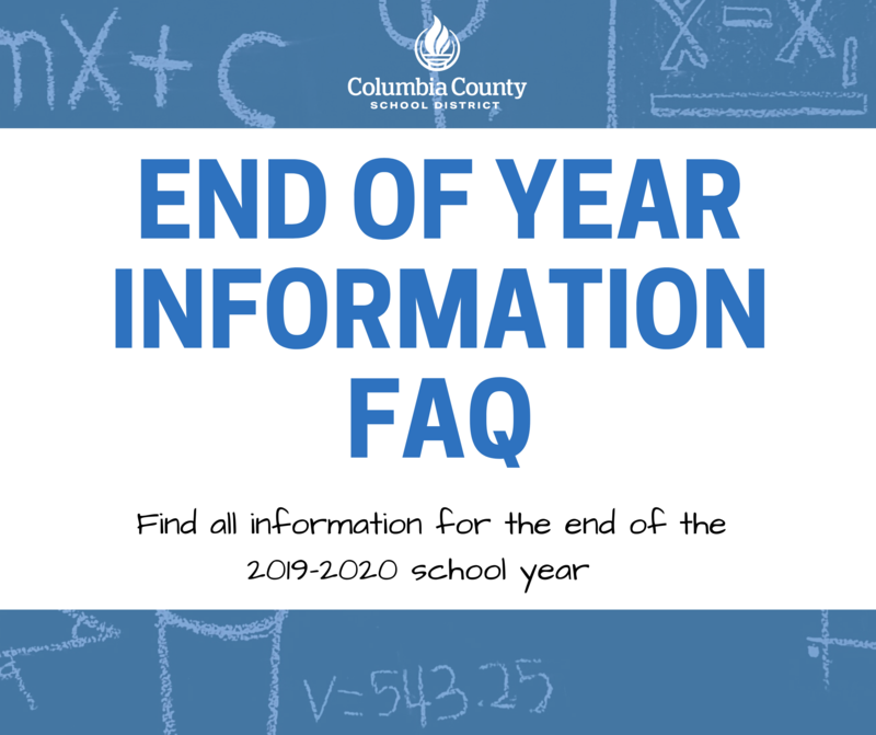 End of the Year FAQ
