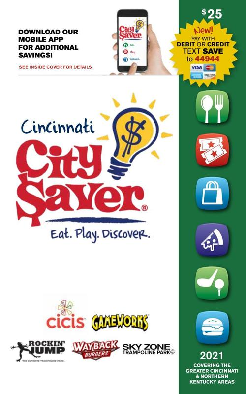 City Saver Book