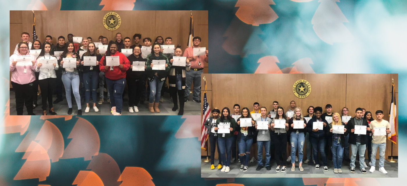 students with FEMA certifications