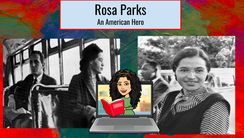 Rosa Parks collage