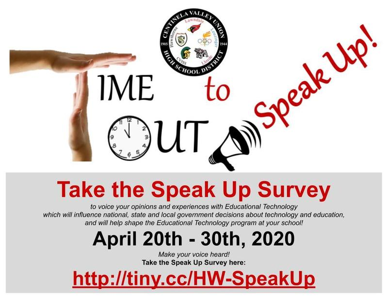 Time to Speak Out Survey