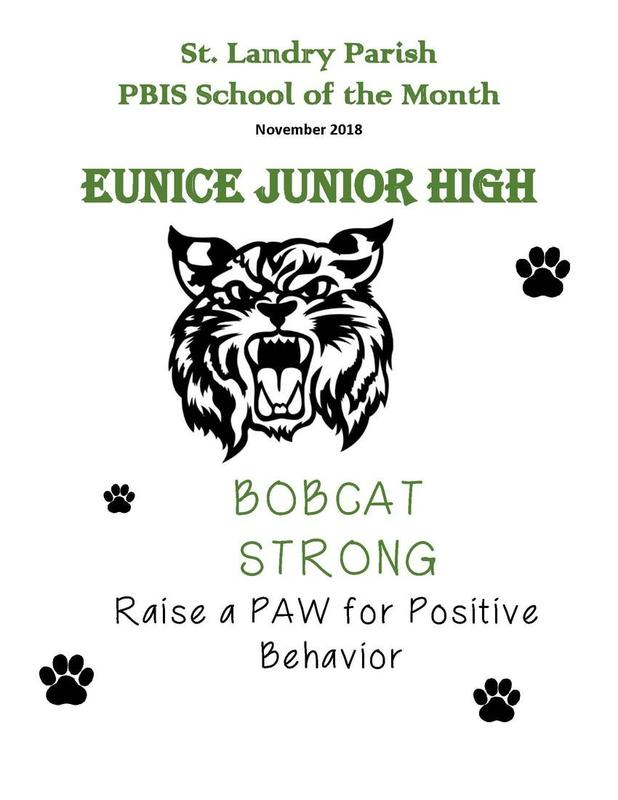PBIS School of the Month