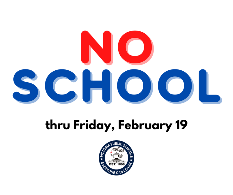 Victoria ISD Cancels School Through Friday, February 19 Thumbnail Image